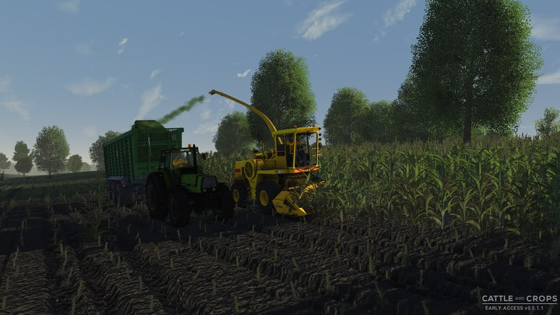 New Holland 2305 forage harvester V 0 4 CnC - Cattle and Crops mod